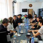 Guests from Yantai University, China