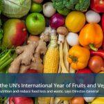 2021 – Международна година на плодовете и зеленчуците