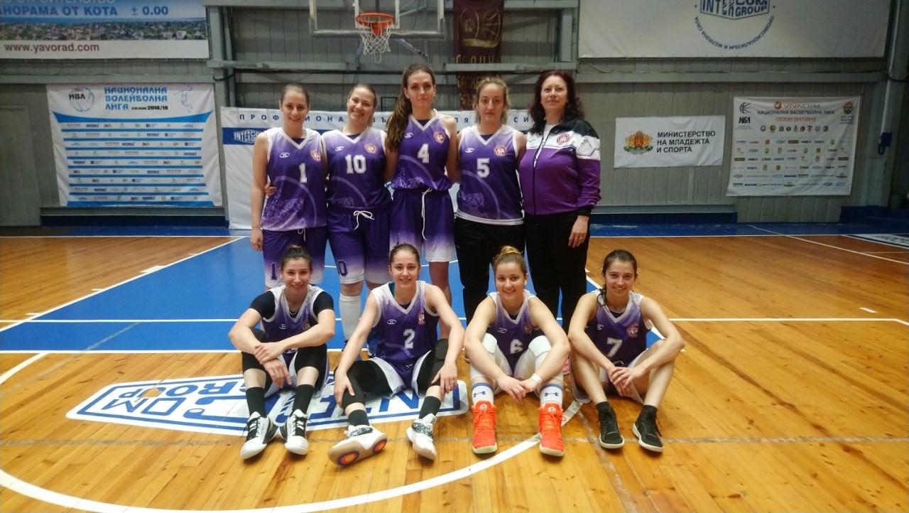 1 място - Национален университетски шампионат по баскетбол 2019 гр. Варна