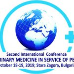 SECOND INTERNATIONAL SCIENTIFIC CONFERENCE VETERINARY MEDICINE IN SERVICE OF PEOPLE October 18-19, 2019